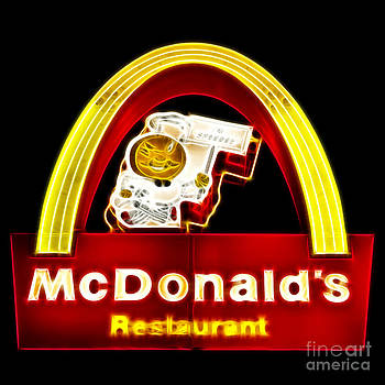 Wingsdomain Art and Photography - McDonalds - Electric