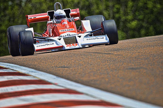 McLaren M26 by Peter Falkner