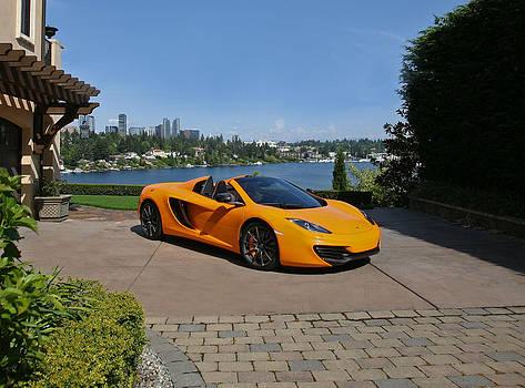 McLaren Spyder  by Mark Cardon