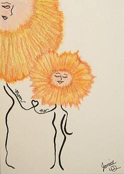 Me and Mom by Janice W Deetscreek