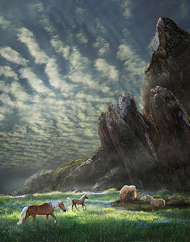 Meadow Retreat by Melinda Hughes-Berland