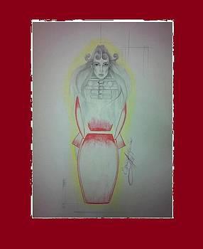 Mechwoman by Ellada Amvrosiadou