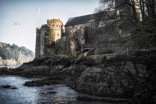 Medieval Castle - England by Michael Carter