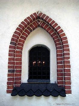 Medieval Church Window by Leena Pekkalainen