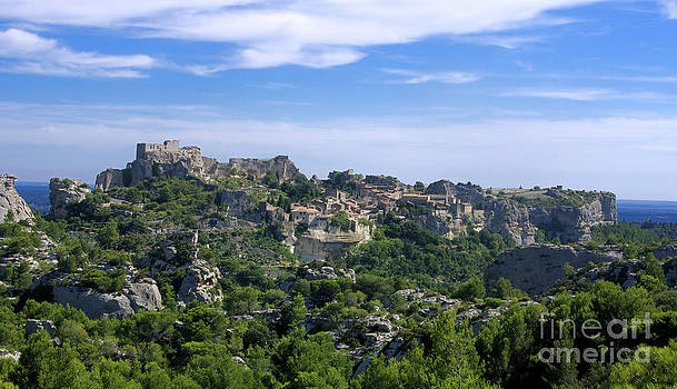 BERNARD JAUBERT - Medieval village of Les Baux de-Provence. Alpilles. France