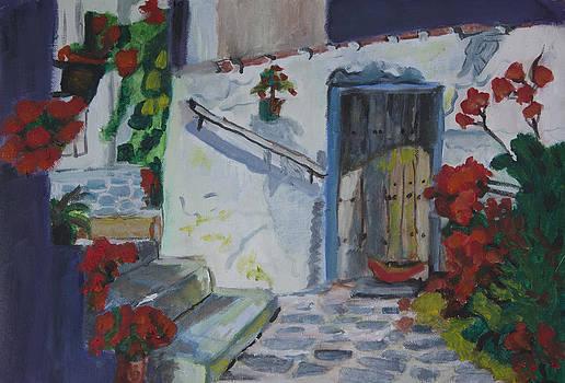 Kate Farrant - Mediterranean Villa