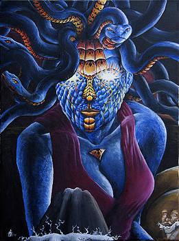 Medusa Attacks by Louis Monnich