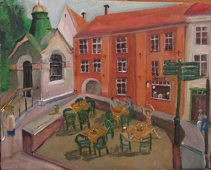 Meet Me at Pikk Tanav  Estonia  by Maria Milazzo