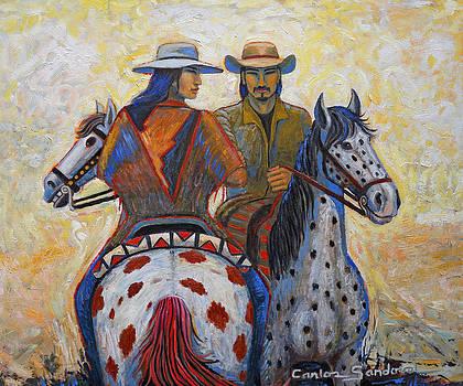 Meeting at Dawn by Carlos Sandoval