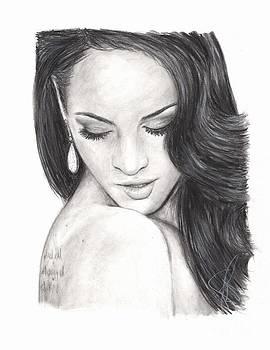 Megan Fox by Rosalinda Markle