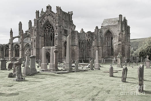 Melrose Abbey by Juergen Klust
