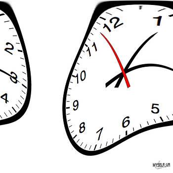 Melted Clocks by Iliyan Stoychev