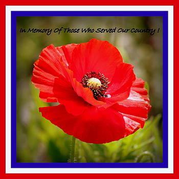 Rosanne Jordan - Memorial Day Tribute
