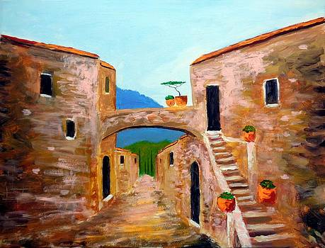 memories of Montalcino by Larry Cirigliano