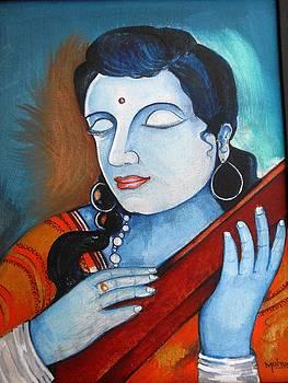 Memory of shri krishna by Mohan Kumar
