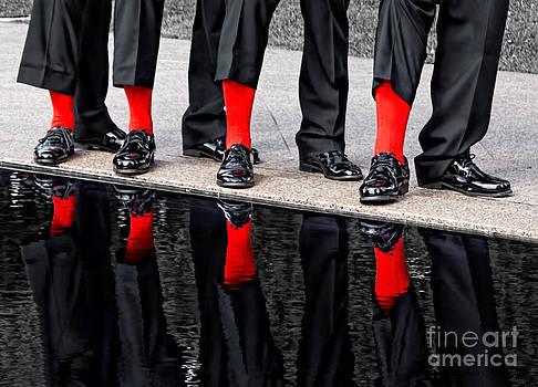 Barbara McMahon - Men In Black and Red