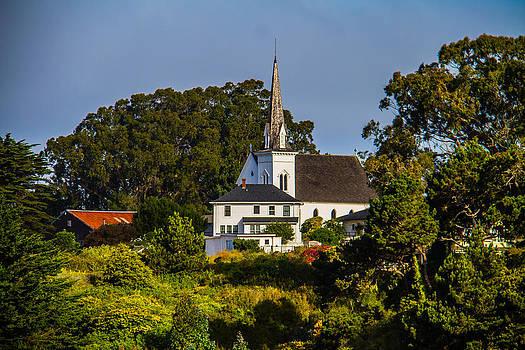 Mendocinos Church by Brian Williamson