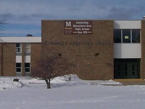 Menominee High School by Jonathon Hansen