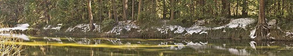 Merced River Panorama by Larry Darnell