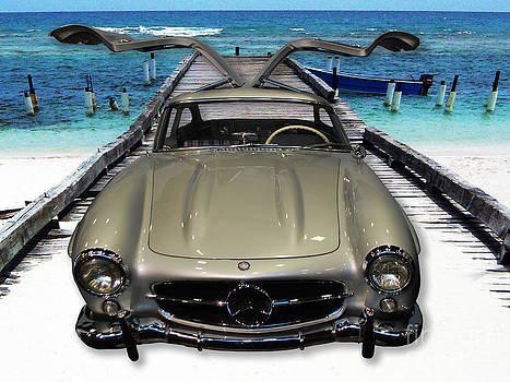 Heather Kirk - Mercedes Benz on Landing Strip