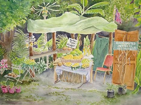 Merizo Fruit Stand by Kathleen Rutten