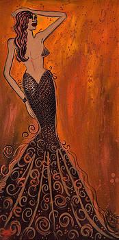 Mermaid Brass by Helen Gerro