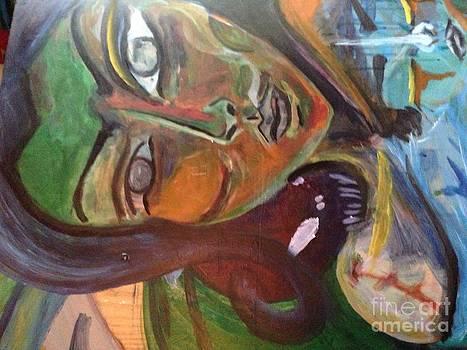 Mermaid close up by Pumpkin Reyes