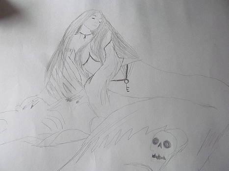 Mermaid in Death Waters  by Ashley Dollars