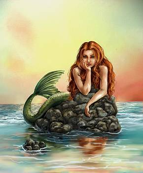 Mermaid Reflections by Cassandra Gallant