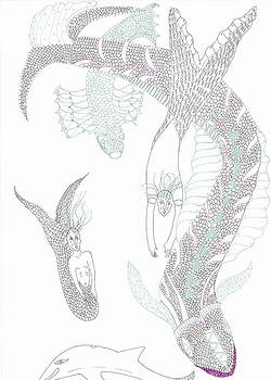 Mermaids and Sea Dragons by Helen Holden-Gladsky