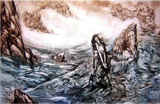 Mermaid's Sorrow by Ivan Bogoev