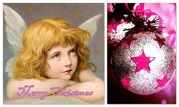 Merry Christmas Angel by The Creative Minds Art and Photography