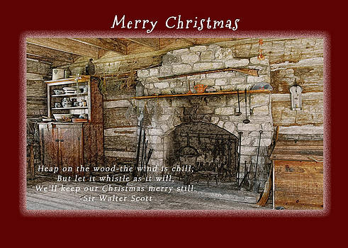 Michael Peychich - Merry Christmas Log Home