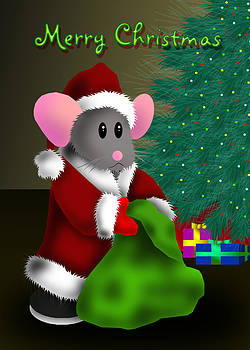 Jeanette K - Merry Christmas Mouse