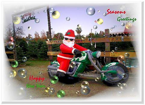 Joyce Dickens - Merry Christmas  Seasons Greetings  Happy New Year