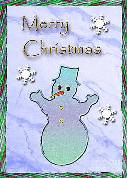 Jeanette K - Merry Christmas Snowman