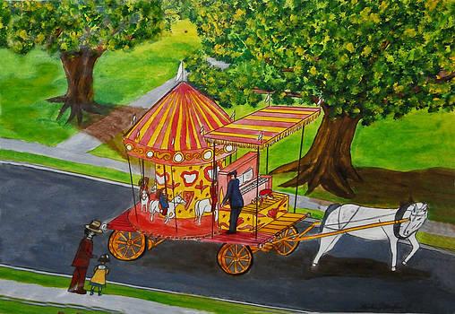 Merry-go-round Wagon by Gordon Wendling