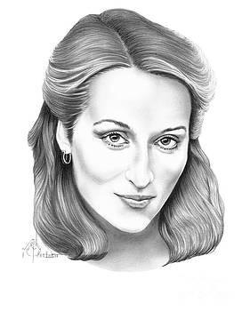 Meryl Streep by Murphy Elliott