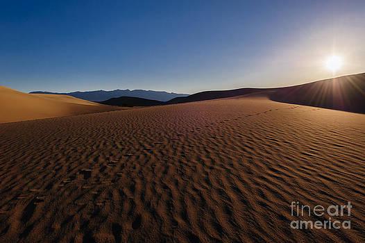 Mesquite Flat Dunes by Charles Dobbs