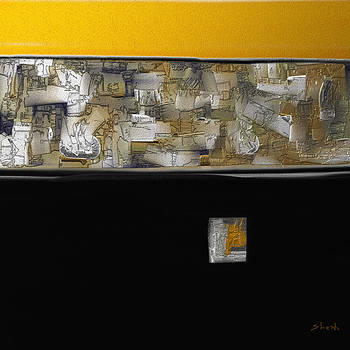 Shesh Tantry - Metal Art-Abstract