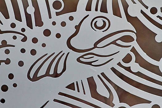 Metal Fish by Jim Nelson