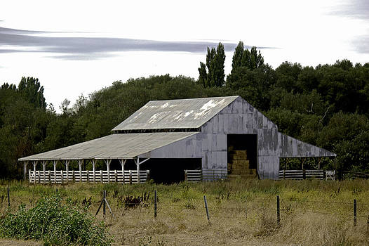 William Havle - Metal Hay Barn