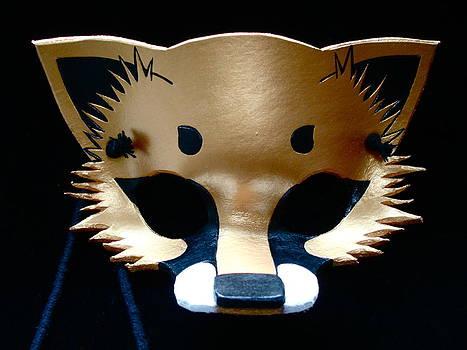 Metallic Gold Fox by Fibi Bell