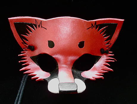 Metallic Red Fox by Fibi Bell