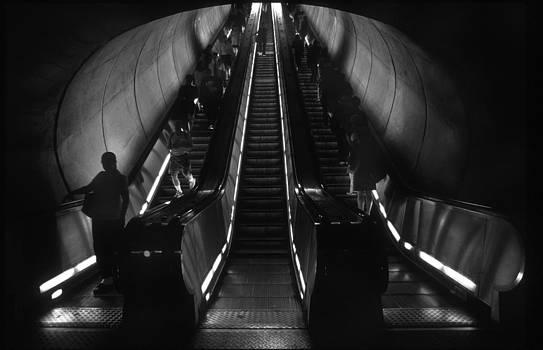 Harold E McCray - Metro Escalator
