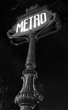 Metro Paris by Paris Color