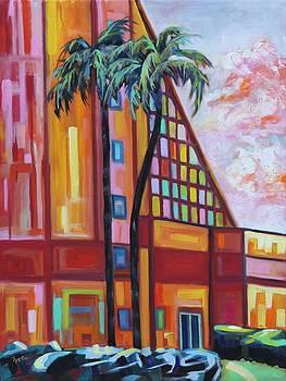 Metropolitan Palms by Eve  Wheeler