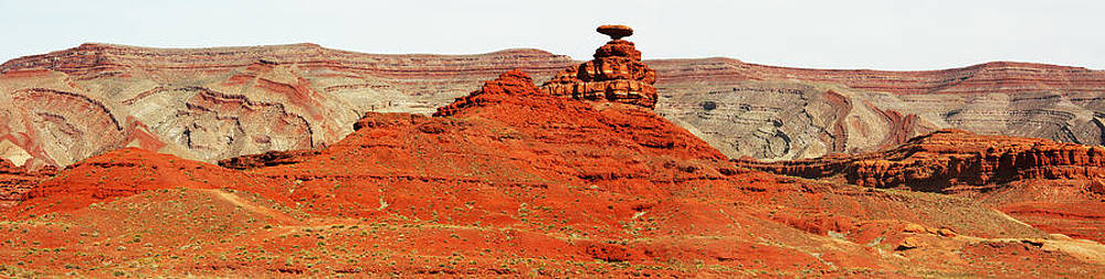 Mexican Hat Panorama by Laurie Larson