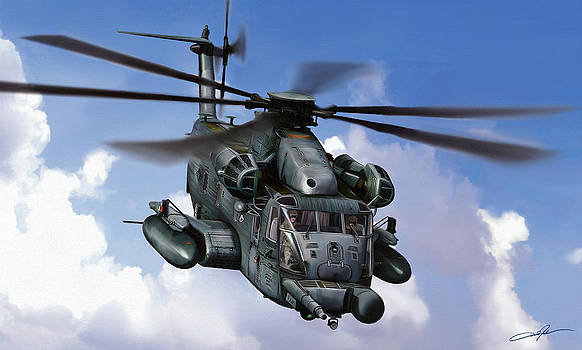 Dale Jackson - MH-53J Pavelow III