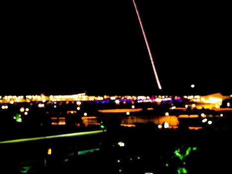 MIA Night Takeoff by Calvin Hanson